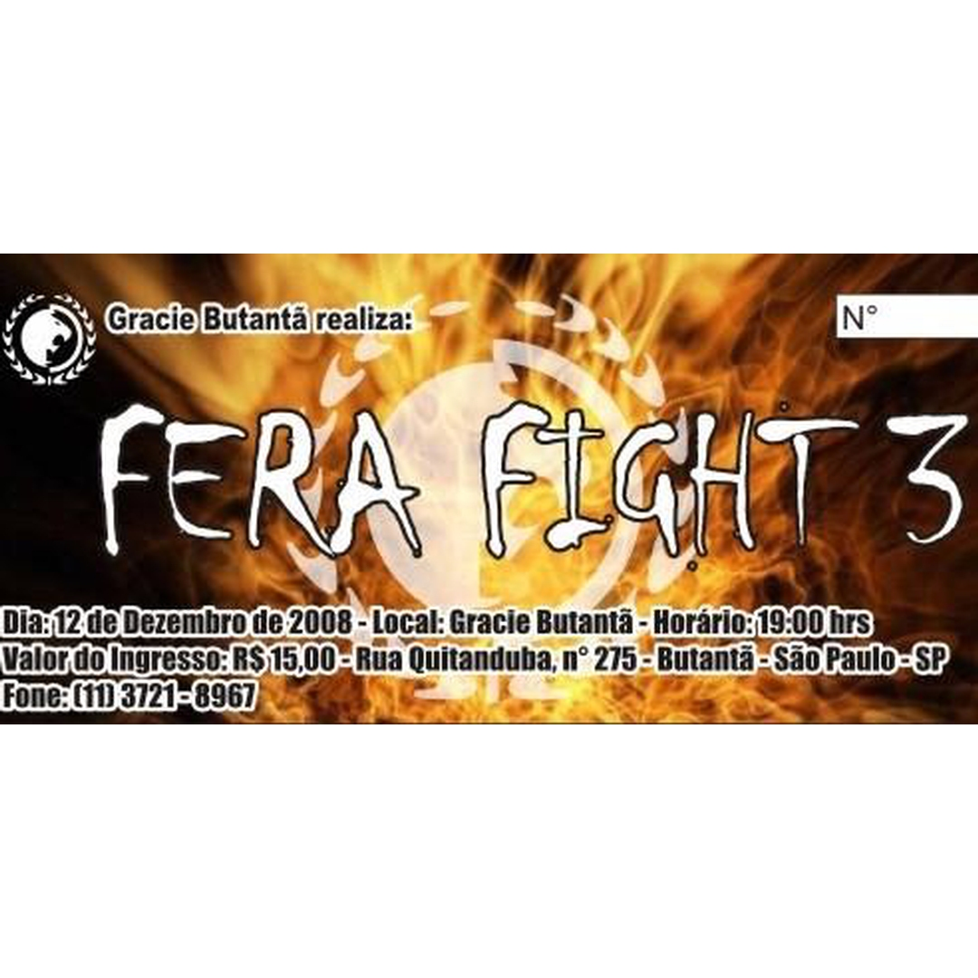 FERA FIGHT III na Graice Butantã-